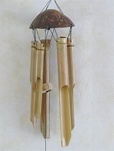 Fabriquer Un Carillon : carillon bambou 6 branches carillons ~ Melissatoandfro.com Idées de Décoration
