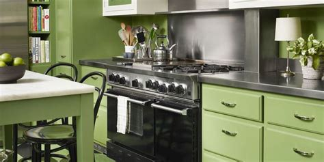 olive kitchen accessories 20 green kitchen design ideas paint colors for green 1177