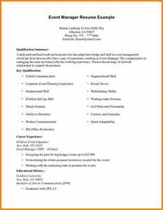 Work Resume Templates 5 Resume Exles With No Experience Bid Template