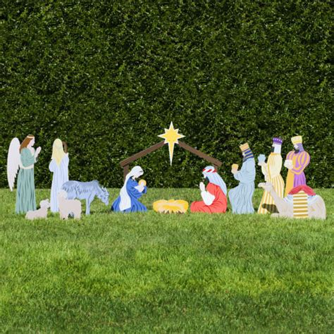 outdoor nativity store classic outdoor nativity set full