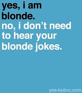 sayings http://... Funny Blonde Quotes