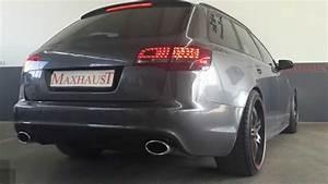 Audi A6 4f Kennzeichenhalter Vorne : audi a6 4f 3 0 tdi with maxhaust active sound ~ Kayakingforconservation.com Haus und Dekorationen