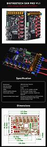 New Bigtreetech Skr Pro V1 1 Control Board 32 Bit Arm Cpu