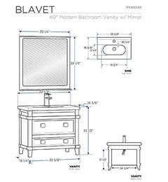 bathroom sink measurements bathroom design