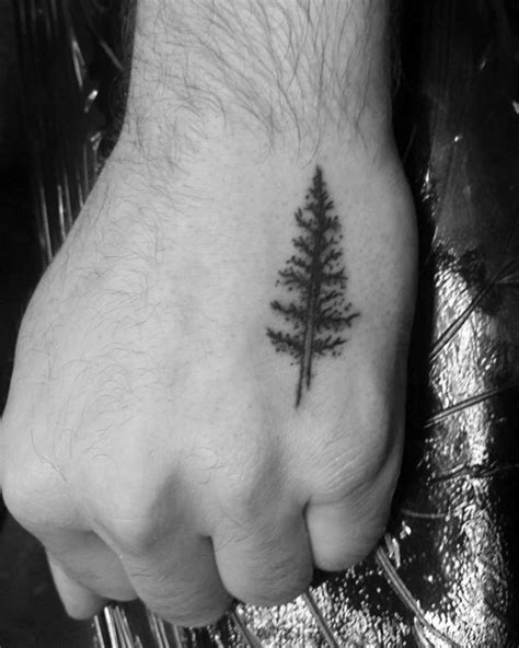 60 Small Tree Tattoos For Men - Masculine Design Ideas
