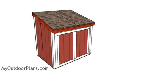 large generator shed roof plans myoutdoorplans