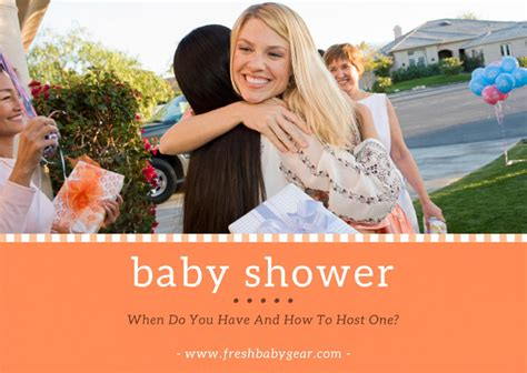 When Do You Have A Baby Shower And How To Host One?