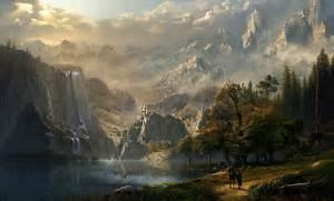 Epic Fantasy Wallpaper...