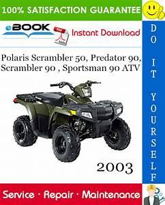 2003 Polaris Scrambler 50  Predator 90  Scrambler 90