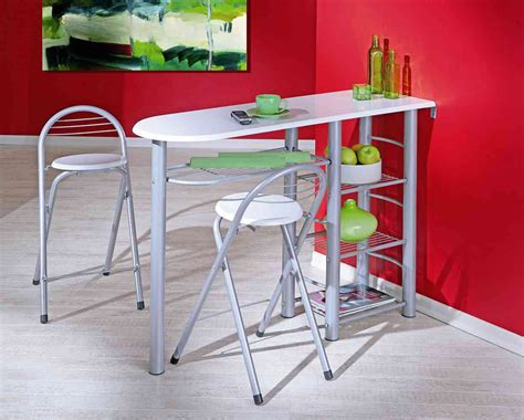 ensemble table cuisine ensemble table et 2 tabourets contemporain coloris gris