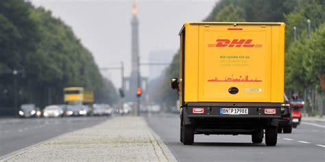 dhl siege deutsche post plant lieferwagen mit brennstoffzelle