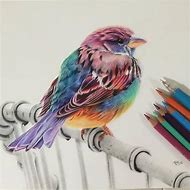 Beautiful Colored Pencil Drawing