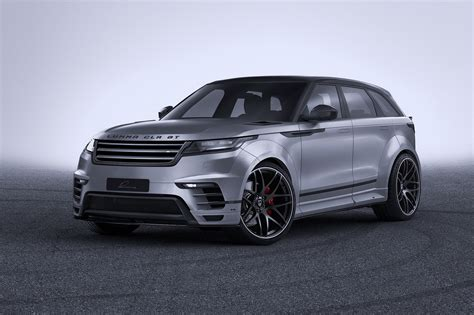 Land Rover Range Rover Velar Modification by Widebody Range Rover Velar By Lumma Is All Show With No