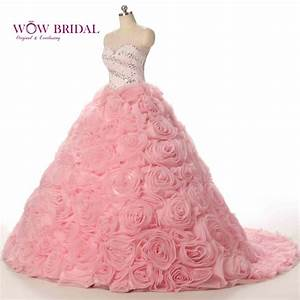 popular rose pink wedding dresses buy cheap rose pink With rose pink wedding dress