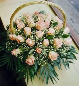 Corbeille De Fleurs Pour Mariage : corbeille fleurs pour mariage le mariage ~ Teatrodelosmanantiales.com Idées de Décoration
