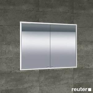 Bad Spiegelschrank Beleuchtet : sprinz classical line unterputz spiegelschrank umlaufend beleuchtet badezimmer ~ Frokenaadalensverden.com Haus und Dekorationen
