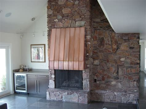 copper fireplaces copper fireplace restoration ck valenti designs inc