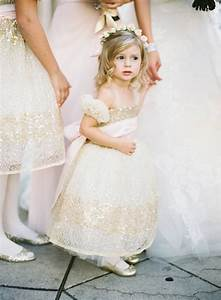 flower girls ring bearers photos gold flower girl With destination wedding flower girl dress