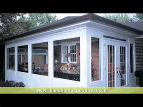 chion windows siding patio rooms youtube