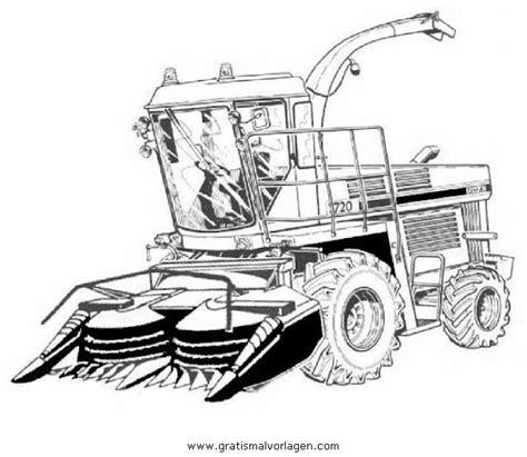 Traktor ausmalbilder zum ausdrucken trecker traktoren alte und neue mit mähmaschinen& mehr kostenlos bei happycolorz entdecken. Gratis Malvorlage maishacksler in Baumaschinen ...