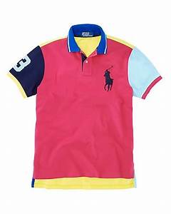 Polo Ralph Lauren Custom Fit Short Sleeved Neon Big Pony