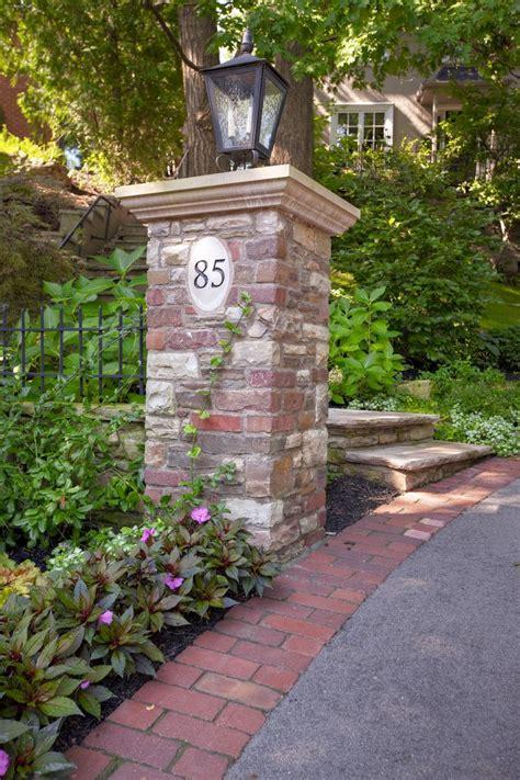 brick l post designs top 25 ideas about brick mailbox ideas on pinterest