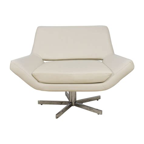 85 faux white leather accent chair chairs