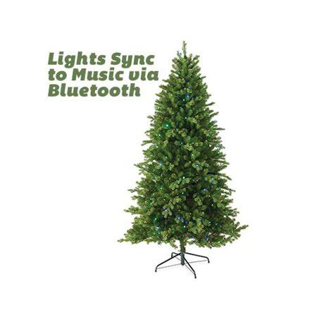 real christmas tree cost walmart national tree co import tpes3 d07t 75m feel real artificial pre lit tree bluetooth