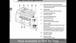 Canon Printer Imageclass Mf6590 User Manual
