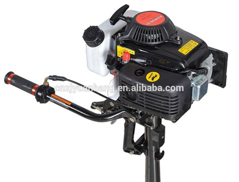 Boat Motors Air Cooled by Air Cooled 4 Stroke 3 6hp Outboard Motors Hangkai View