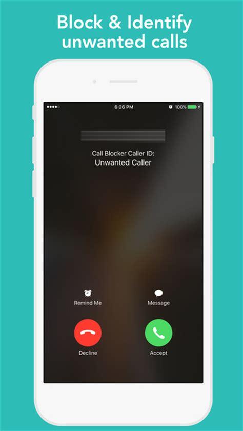 block calls on iphone app shopper call blocker block scam calls