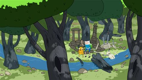 Adventure Time Animated Wallpaper - adventure time finn the human jake the landscape