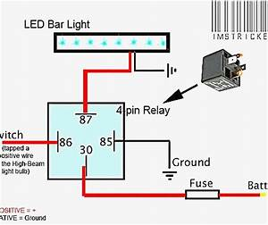 4 Pin Relay Wiring Diagram Lights