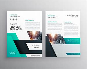 Modern Geometric Busines Flyer Poster Brochure Design