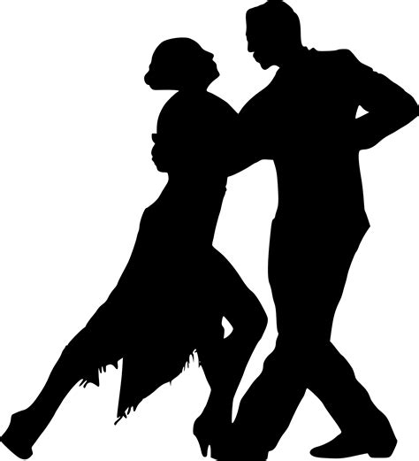 10 Couple Dancing Silhouette (PNG Transparent) | OnlyGFX.com