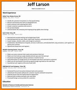 13 resumes examples for cashier