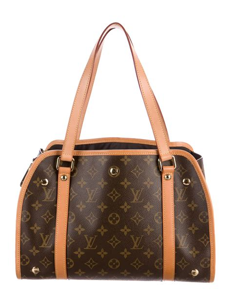 louis vuitton monogram sac baxter pm dog bag handbags