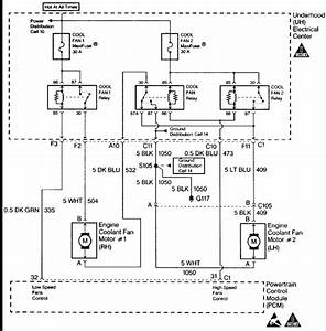 1997 Chevy Cavalier Cooling Fan Wiring Diagram