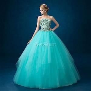 robe de bal princesse pour soiree en tulle bleu turquoise With robe de cocktail combiné avec hipanema turquoise