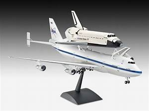 Boeing 747 SCA and Space Shuttle - Revell 1:144 - Scale ...