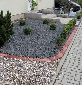Gartenarbeit ideen vorgartengestaltung mit kies for Vorgartengestaltung mit kies
