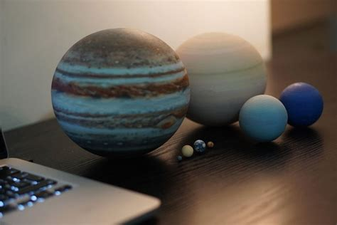 3D-Printed, Scale Model of the Solar System Fits in the