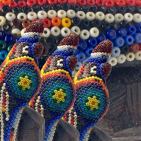 huichol bead art craft organic