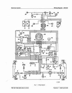 John Deere 3040 Electric Diagram