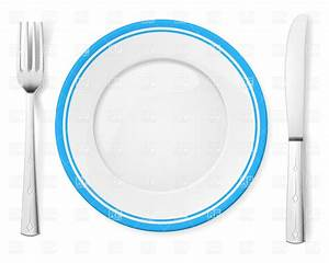 Dinner plate, knife and fork, 6849, Objects, download ...