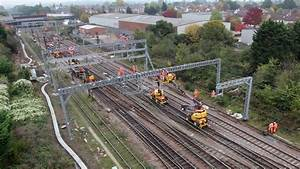 Watch  26km Of New Overhead Wire Installed Between Norwich
