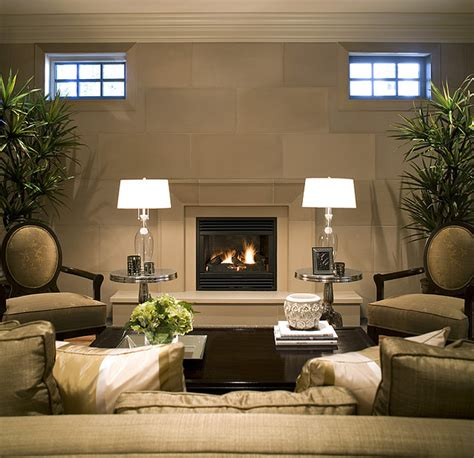 living room with tv and fireplace fireplace mantels and surrounds Modern