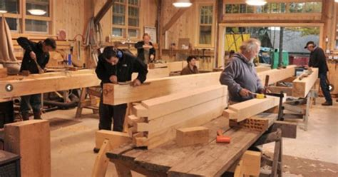 learn   maine timber frame company works shelter