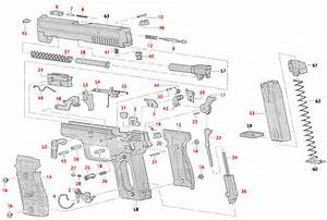Swiss Sig Sauer Sig P229 Pistol Slides Triggers Parts And