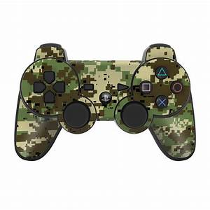 Digital Woodland Camo PS3 Controller Skin // iStyles